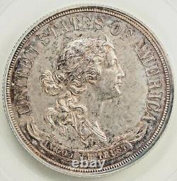 1870 Seated Liberty Demi 50c Pattern Argent Demi Dollar Pcgs Pr62