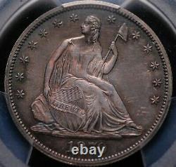 1870 Seated Liberty Half Dollar Pcgs Pr 64 & Cac Fantastic Originality & Color