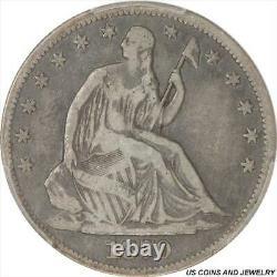 1870-cc Seated Liberty Half Dollar Pcgs F12 Low Mintage Key Date