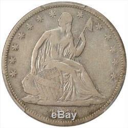 1871-cc Assis Liberté Demi-dollar Pcgs F12