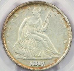 1871-s Assis Liberté Demi-dollar Pcgs Au50