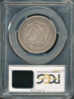 1872-cc Carson City Sièged Liberty Half Dollar Pcgs Vg 08 Faible Mintage