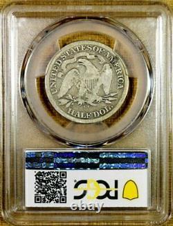1872-cc Pcgs G04 Moitié Assis Dollar Date De Dur