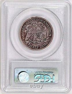 1872-cc Seated Liberty Demi Dollar Pcgs Vg08