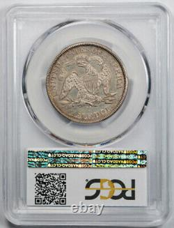 1874 CC 50c Liberty Assis Demi-dollar Pcgs Au 50 À Propos De Clé Non Circulée