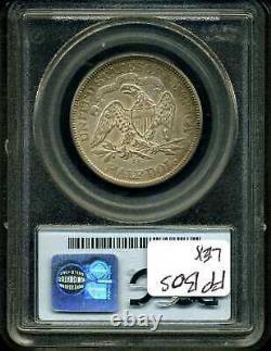 1875-cc 50c Seated Liberty Half Dollar Xf45 Pcgs 2681816
