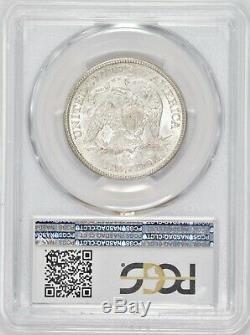 1875-cc Assis Liberté Demi-dollar Pcgs Au53 Éclat! # Bbn7