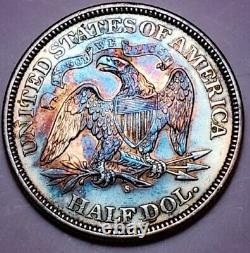 1876 S Assis Liberty Demi Dollar Key Date 276