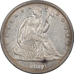 1876 cc Liberté Assis Half Dollar Gpc-40 Xf