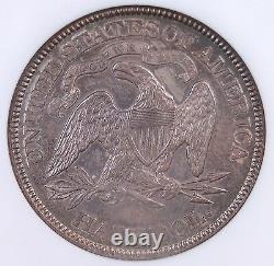 1877 Assis Liberty Demi-dollar Ngc Ms63 Bien Frappé Propre Et Original