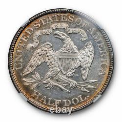 1877 Assis Liberty Half Dollar Ngc Ms 62 Pl Preuve Comme Beauté Pièce Unique