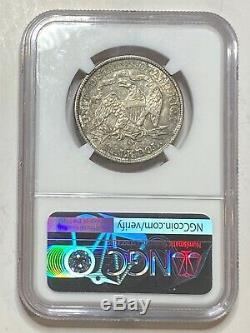 1877 CC Assis Liberté Demi-dollar En Argent 50c Ngc Au53 Mieux Date Ville Carson