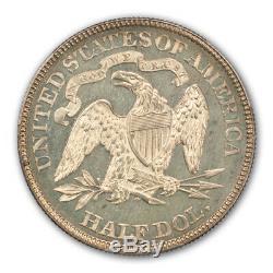 1878 50c Liberté Assis Demi-dollar Pcgs Pr63 + Cam