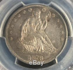 1878 CC Assis Liberté Demi-dollar Pcgs Au 53 Carson City