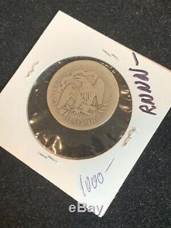 1878 CC Dollar Assis Liberté Moitié A Propos De Bonne Ag Date De Clé Carson City