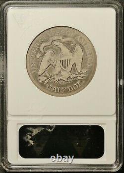1878-cc Liberty Assise À La Moitié. Dans Anacs Holder. G4. F791