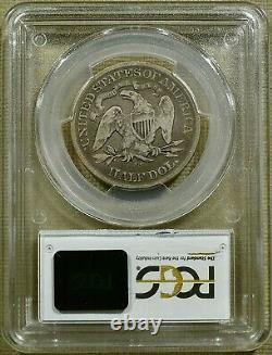 1878-cc Pcgs Vg08 Assis Demi-dollar Date Clé