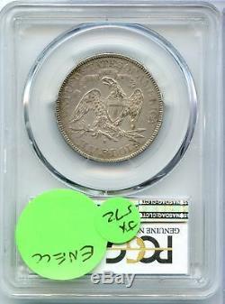 1878-s Assis Liberté Demi-dollar Pcgs Au Détails Certifié San Francisco Jx572