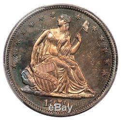 1879 50c Liberté Assis Demi Dollar Pcgs Pr64