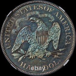 1879 Assis Demi-dollar Preuve Ngc Pf64 Superbe Eye Appeal Strong Strike