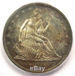 1879 Proof Assis Liberté Demi-dollar 50c Coin Icg Pr64 (pf64) $ Valeur 1560