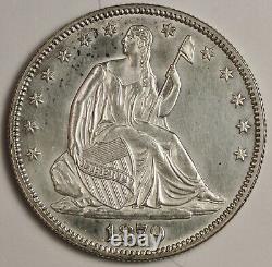 1879 Seated Liberty Demi. L'original N'a Pas Été Lu. Comme Gem B. U. 131228