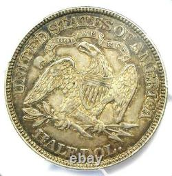 1879 Seated Liberty Demi-dollar 50c Pcgs Xf Détails (damage) Rare Date