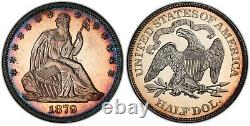 1879 Seated Liberty Demi-dollar Pcgs Pr-63