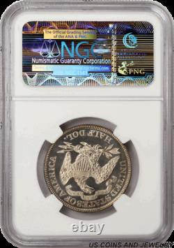 1883 Gem Proof Seated Liberty Half Dollar Ngc Pf-65 Cameo Avec Une Belle Couleur