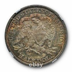 1883 Seated Liberty Half Dollar Ngc Au 58 About Uncirculated Cac Approved