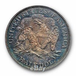 1885 50c Demi-liberté Assis Dollar Pcgs Pr 63 Preuve Date De Clé Tirage Limité