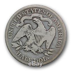 1888 50c Assis Liberté Demi-dollar Très Bon Vg Clés Date Faible R358 Mintage