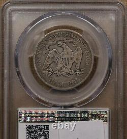 1890 Date Rare Assis Demi-dollar, Pcgs F12, Agréable Originaldavidkahnrarecoins