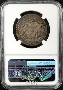 1890 Proof Seated Liberty Demi-dollar Gradué Pf 64 Par Ngc! Très Belle Tonification