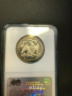 1890 Proof Seated Liberty Half Ngc Pr 64 Cameo