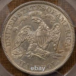 1891 Tough Date Liberty Assis Moitié, Pcgs Au Det, Date Difficile! David Kahnrarecoins