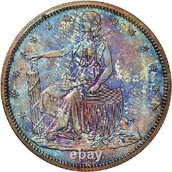 Amazing Patina Ngc Graded Pf62 1859 Judd-236 Paquet's Liberty Seated Half Proof