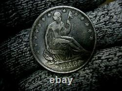 Belle 1853 Liberty Seated Silver Half Dollar United State Coin