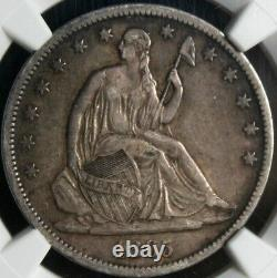 Génial Xf-40 1865-s Liberty Half Dollar 50c Ngc Nice Pedigree