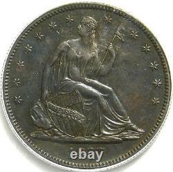 Lire La Description. Pcgs Ms61 1877 S Assis Liberty Demi-dollar