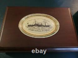 Ss Republic Shipwreck 3 Set De Pièces 1858-61 O Plates-formes Assises En Affichage Ngc