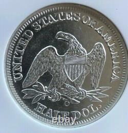 Ss République, É.-u. Numéro 1860 O Effet De Naufrage (b)au Liberty Seated Half Dollar