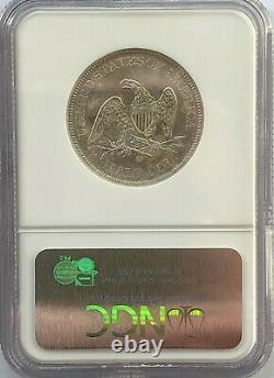 Très Nice Ss Republic 1854 O Effet De Naufrage Liberté Assise Demi-dollar