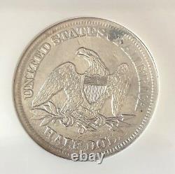 Wow 1858-o, U.s. Silver Liberty Seated Half Dollar, 1865 Ss. Republic Shipwreck